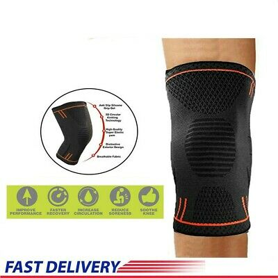 NEW Compression Toe Knee Support Brace Arthritis Joint Pain Relief Sleeve Sports