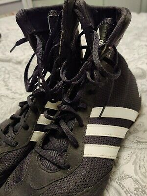 adidas Mens Box Hog X Special Boxing Shoes White Sports Lightweight Trainers