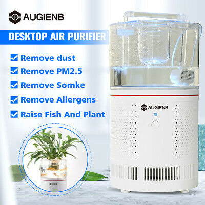 AUGIENB A-7 Air Purifier HEPA Filter 140m³/H Home Germ Odor Smoke Dust Cleaner