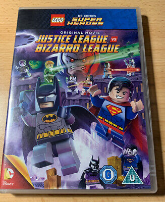LEGO: Justice League Vs Bizarro League DVD (2015) Dc Comics super heroes