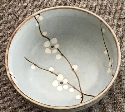 "Hinomaru Collection Japanese Soshun Early Spring Cherry Blossom 5 1/2"" Rice Bowl"