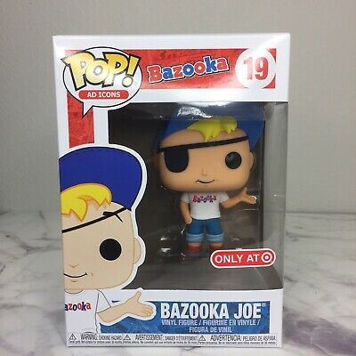 Funko Pop! Bazooka Joe 19 Bazooka Ad Icons Target Exclusive Brand New !