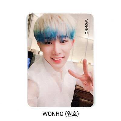 MONSTA X - 2nd Album Take.2 'We Are Here' Official Photo card - WONHO #04