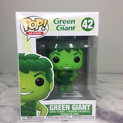 Funko Pop! Green Giant Figure 42 Ad Icons Funko Brand New! Clean!