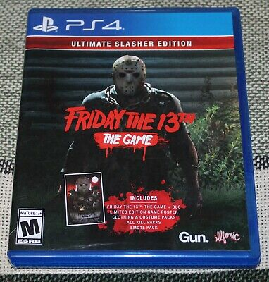 Friday The 13th The Game: Ultimate Slasher Edition (Sony PlayStation 4, 2018)