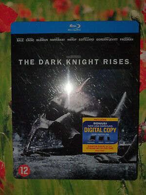 THE DARK KNIGHT RISES bluray steelbook - neuf
