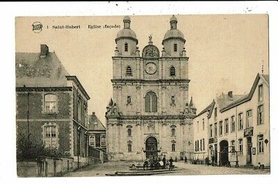 CPA-Carte Postale Belgique- Saint Hubert - Son Eglise VM8473