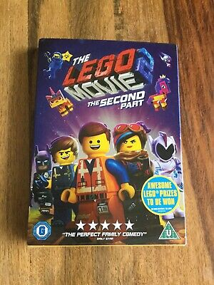 The Lego Movie 2 Dvd,new Sealed.PAL.