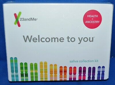 23andMe Health and Ancestry Saliva Collection Kit