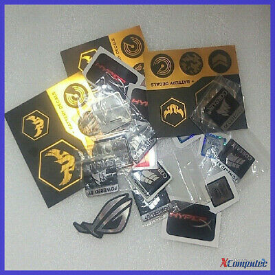 PC Computer Brand DIY Logo Sticker Multiple Asus Intel AMD Corsair ROG G.Skill