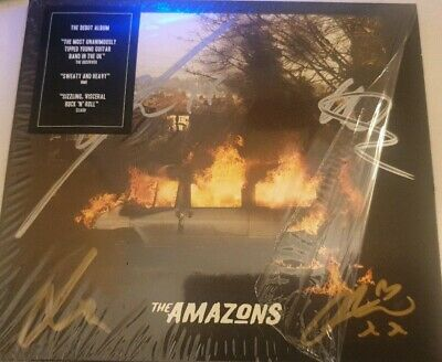 THE AMAZONS - Fully Signed CD - The Amazons - MUSIC