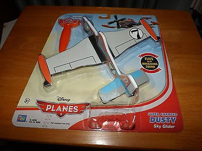 Disney Planes, Super Charged Dusty Sky Glider, Flies W/Whistling Sound, Nip