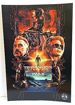 Terminator Dark Fate Movie 2019 Limited Edition Canadian IMAX Promo Poster 13x19