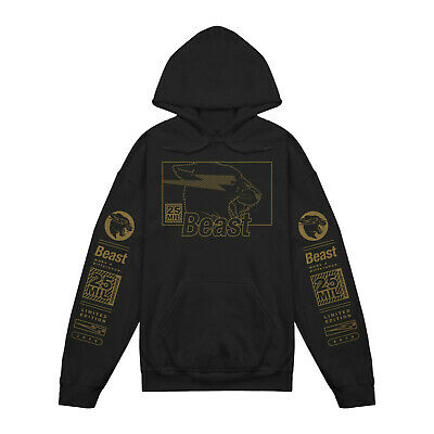 Brand New Mr Beast Special Limited Edition 25 Million Kids Hoodie
