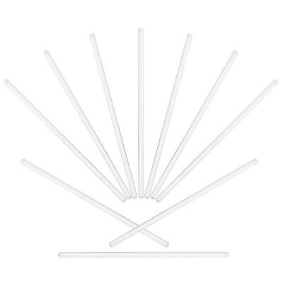 UKCOCO 10PCS Stirring Rods Harden Supplies for Cocktails Drinks Mixtures