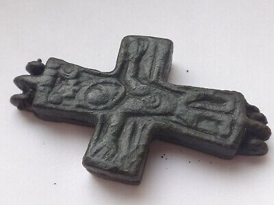 Ancient  Byzantine Reliquary Cross  11,58 gr/ 33/25 mm