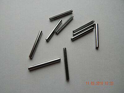 "STAINLESS STEEL ROLL PINS 5/32 x 1 1/2""  10 PCS. NEW"