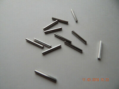 "STAINLESS STEEL ROLL PINS. 5/32 x 1 1/4""  12 PCS. NEW"