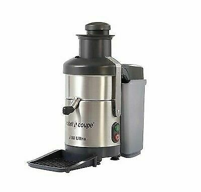 Robot Coupe J80 Ultra Automatic Juicer Pulp Ejector Commercial Extractor New