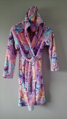 My Little Pony Dressing Gown age 12-13  pink blue yellow lilac 152-158