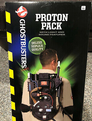 Spirit Halloween Ghostbusters Costume Proton Pack Prop Deluxe Replica