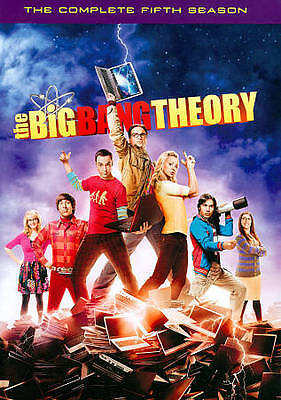 The Big Bang Theory: The Complete Fifth Season (DVD, 3-Disc Set) FREE SHIPPING !