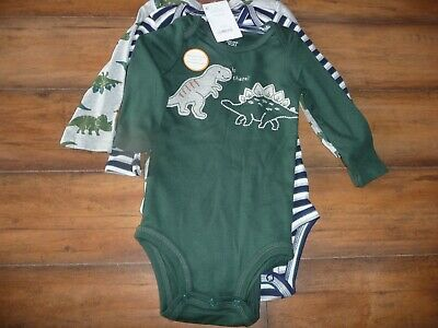 New Carter/'s 4 Pack Bodysuits Solid Colors Boys NWT Preemie 3m 6m 9m 12m 18m 24m