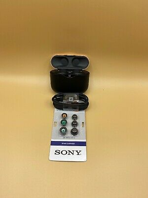 Sony WF-1000XM3 True Wireless Noise Canceling In Ear Headphones - Black