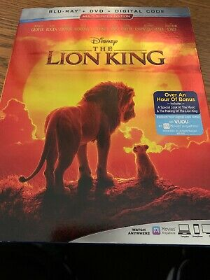The Lion King, 2019 - Live Action (Blu-Ray + DVD + Digital Code) E5