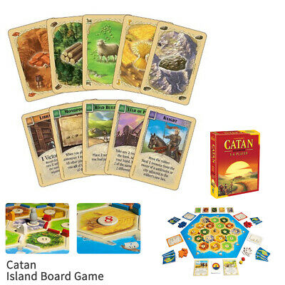 Family Trade Card Game Settlers Of CATAN Strategic Social Board Game Brand New