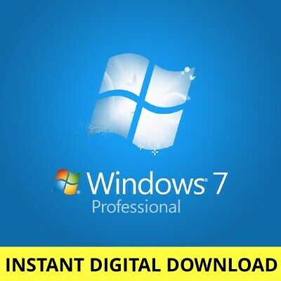 Microsoft Windows 7 Professional Key Code 32/64 bit Genuine Activation Product
