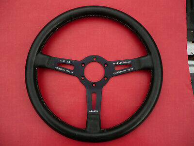 Vintage Fiat Abarth Steering Wheel Fiat 131 Abarth World Rally Champion 1977