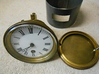 Vintage French Clock Movement. Working. Nice Condition, Spare Parts Only.