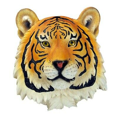 3D Wall Mount Hanging Ornament Decor Animal Head Synthetic Resin Realistic Look~
