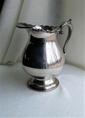 """Modern Victorian WALLACE SILVER PLATE pattern 1167 Large water Pitcher 8.5"""""""