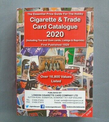 NEW!!! Cigarette and Trade Card Catalogue 2020