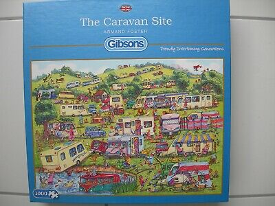 GIBSONS JIGSAW PUZZLE 1000 PIECES Horsing About by Armand Foster G6235
