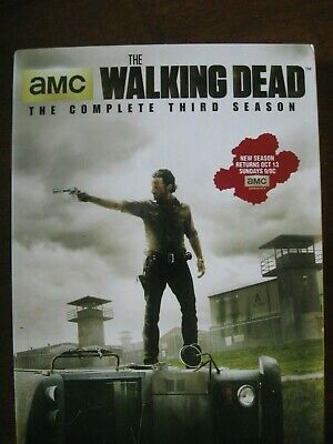 The Walking Dead: Season 3 (DVD, 2013, 5-Disc Set) *New Sealed