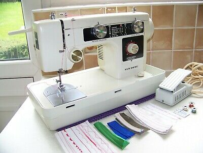 Renowned Janome Newhome Zigzag Multistitch Heavy Duty Sewing Machine,Serviced