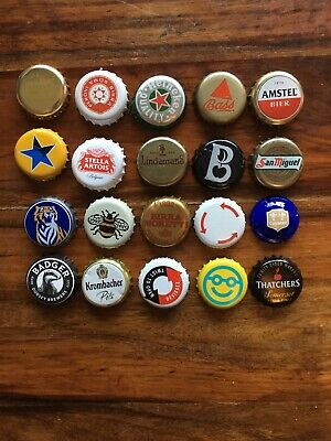 Used Bottle Tops 4 Of Your Choice - Various & Unusual Ones