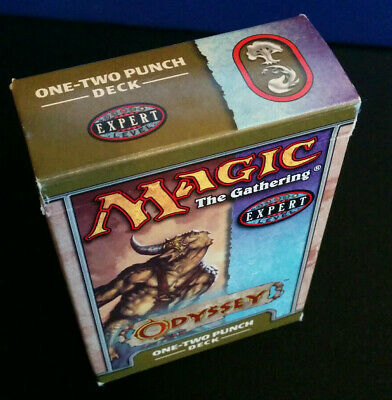 Magic The Gathering MTG Odyssey One-Two Punch Starter Deck