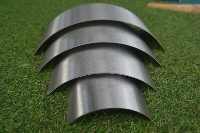 1.2 18swg Stainless Steel grade 304 arch Molds Glass Moulds set of 4