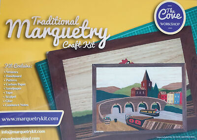 Upstream: Traditional Marquetry Craft Kit by Cove Workshop: Age 12 plus