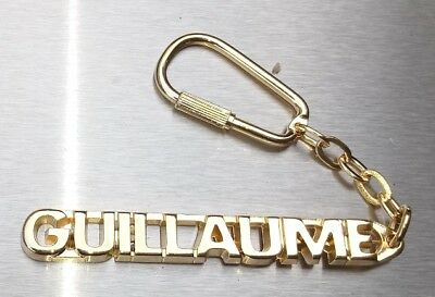 Classy Key Ring Guillaume Gold-Plated Christmas Gift