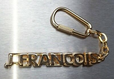 Classy Key Ring J-Francois Gold-Plated Christmas Gift