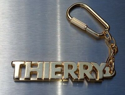 Classy Key Ring Thierry Gold-Plated Christmas Gift