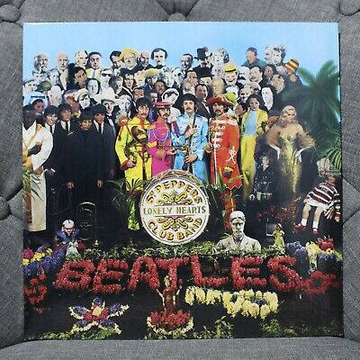 The Beatles Sgt Peppers Lonely.. 2012 Parlophone 180G Stereo Remastered Nm/Nm!!!