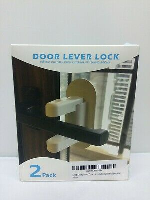 Lever Kids Handle Proof Child Baby Safety Door 2PCS Lock door locks