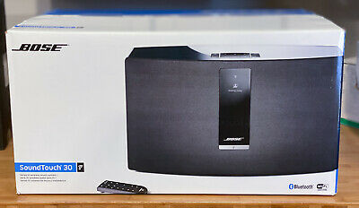 NEW SEALED Bose SoundTouch 30 Series III wireless speaker works w/ Alexa Black