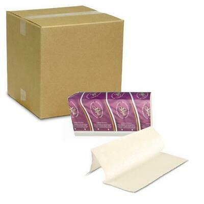 Paper Towel Deluxe Interleaf 24x24cm 16x150 Sheets Off-White Hand Towel Washroom